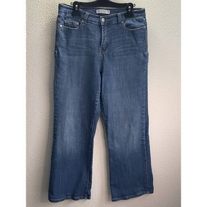 Levi's Women Perfectly Slimming Wide Leg Jeans 12